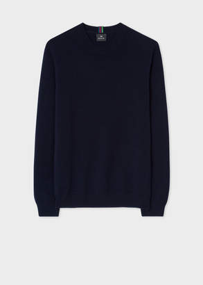 Paul Smith Men's Dark Navy Lambswool Sweater