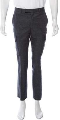 Hardy Amies Wool Cargo Pants