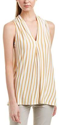 Max Studio MAXSTUDIO Women's Sleeveless Stripe Top