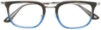 Prada two-tone square frame glasses