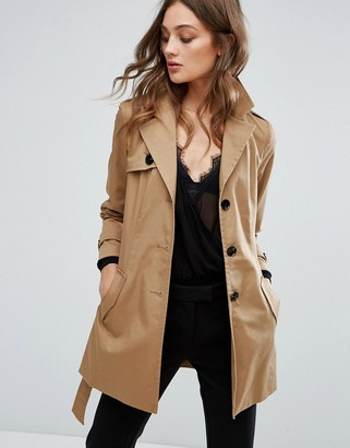 Vero Moda Trench Coat $67 thestylecure.com