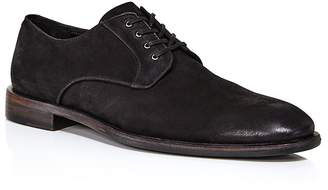 John Varvatos Men's NYC Suede Plain-Toe Oxfords