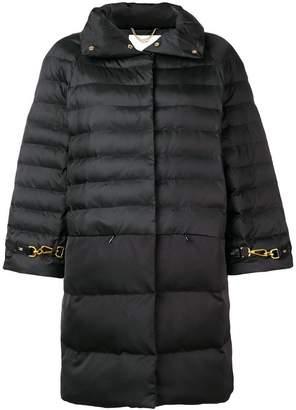 Elisabetta Franchi zipped padded coat