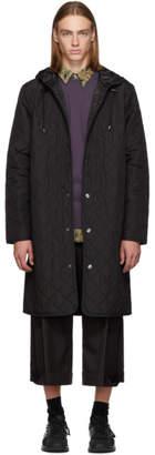LHomme Rouge Black Loop Hood Jacket