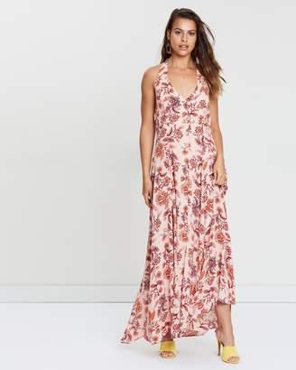 MinkPink Havana Halter Maxi Dress