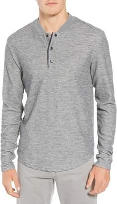 W.R.K Charlie Rib Knit Henley Shirt