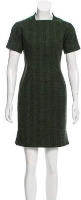 Zang Toi Wool Mini Dress