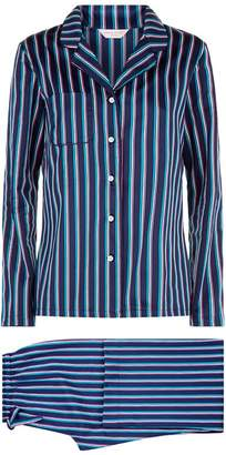 Derek Rose Wellington Striped Pyjama Set