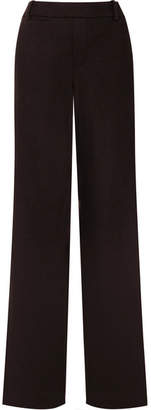Vince Wool-blend High-rise Pants - Black