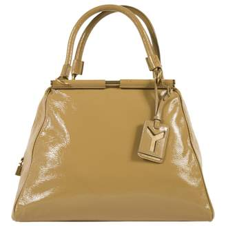 Saint Laurent Yellow Patent leather Handbag