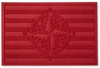 L.L. Bean L.L.Bean Waterhog Doormat, Compass