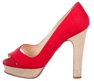 352be304012 Christian Louboutin Red Platforms - ShopStyle