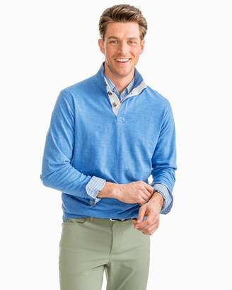 Southern Tide Heathered Gulf Stream Lightweight Pullover