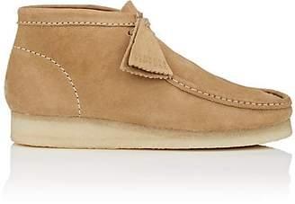 Clarks Men's BNY Sole Series: Nubuck Wallabee Boots - Sand