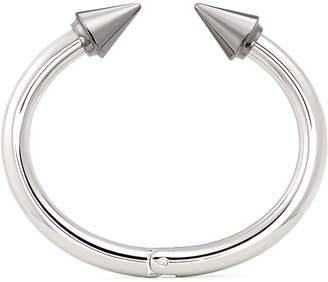 Vita Fede 'Titan Two Tone' silver spike cuff