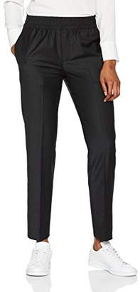Liebeskind Berlin Women's F1182020 Straight Leg Trousers - Black