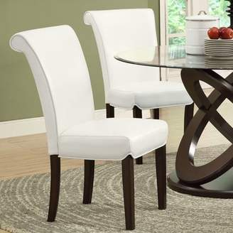 """Monarch Specialties Monarch Dining Chair 2Pcs / 39""""H / Taupe LeatherLook"""