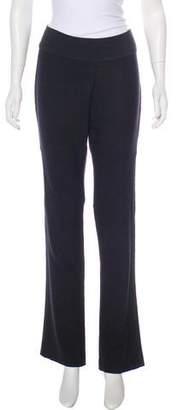 Diane von Furstenberg Mid-Rise Straight-Leg Pants