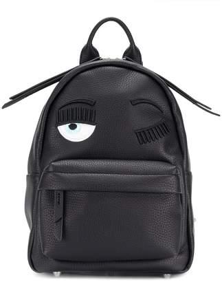 Chiara Ferragni eye design backpack