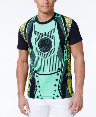 Versace Men's Graphic Print Cotton T-Shirt $175 thestylecure.com