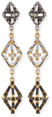 Lulu Frost Gloria Crystal Statement Earrings