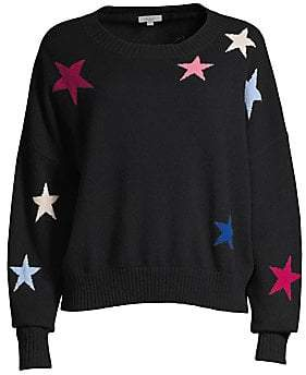 Rails Women's Presley Multi-Star Wool & Cashmere Knit Sweater