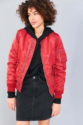 Alpha Industries MA-1 Bomber Jacket $135 thestylecure.com