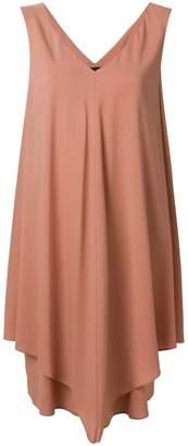 Fabiana Filippi draped sleeveless mini dress