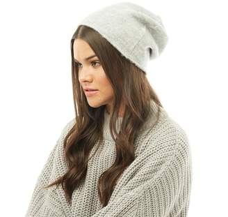 a6f08b44dc773 Jacqueline De Yong Womens Gold Beanie Light Grey Melange