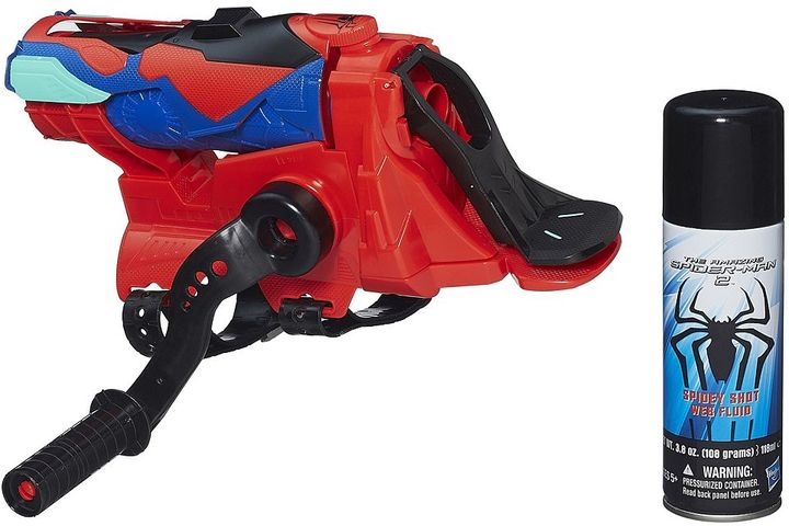 Hasbro Marvel The Amazing Spider-Man 2 Spiral Blast 2-in-1 Web Shooter by Hasbro