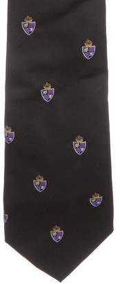 Ralph Lauren Purple Label Silk Jacquard Tie