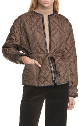 Polo Ralph Lauren Belted Quilted Jacket