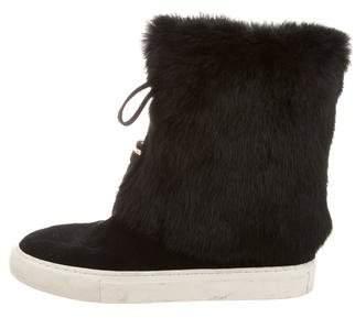 Tory Burch Anjelica Fur Boots