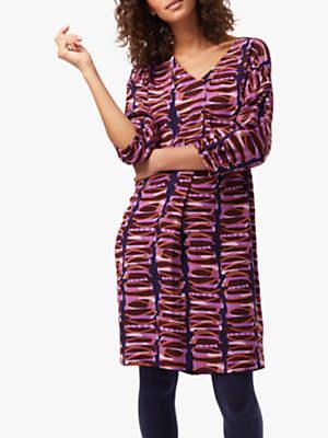 Bilal Dress, Purple
