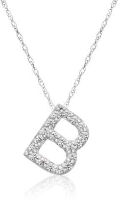Passiana Block Initial Necklace