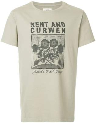 Kent & Curwen floral print T-shirt
