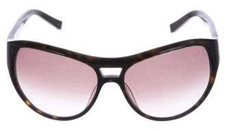 John Varvatos Tortoiseshell Aviator Sunglasses