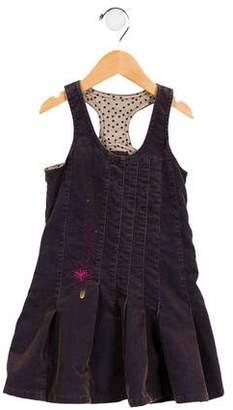 Catimini Girls' Corduroy A-Line Dress