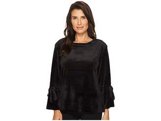 Sanctuary Tierney Velour Popover Sweatshirt Women's Sweatshirt