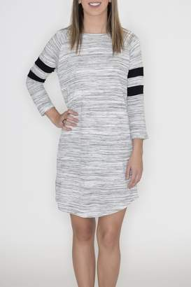 Cherish Striped Raglan Dress