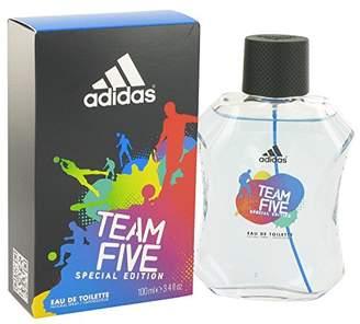 adidas Team Five Men Eau De Toilette Spray 3.4 oz