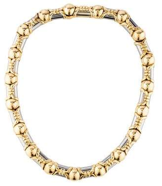 Bvlgari 18K Two-Tone Collar Necklace