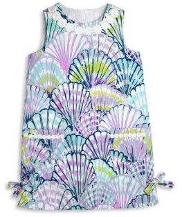 Lilly Pulitzer Toddler's, Little Girl's & Girl's Vintage Dobby Shell Shift Dress