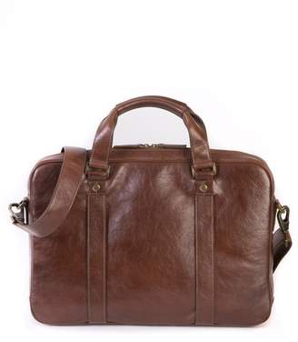 Boconi Becker Leather Briefcase