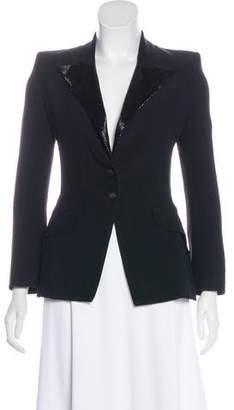 Alexander McQueen Embellished Structured Blazer