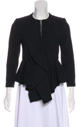 Givenchy Long Sleeve Crew Neck Jacket