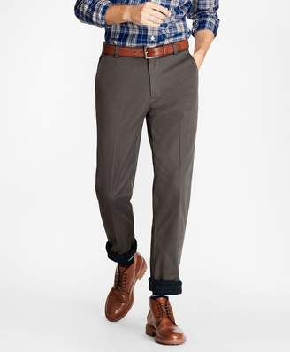 Brooks Brothers Clark Fit Flannel Lined Chinos
