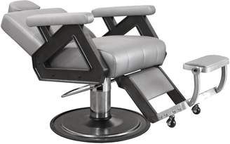 Equipment Collins Caliber Barber Chair with Silver Arms
