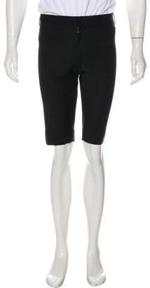 Dolce & Gabbana Wool Flat Front Shorts
