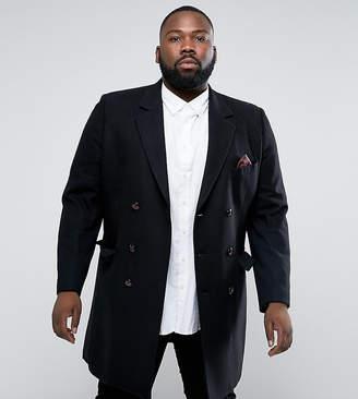 Capone Gianni Feraud PLUS Premium Wool Blend Oversized Overcoat